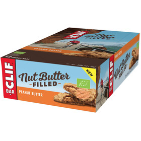 CLIF Bar Nut Butter Energy Bar Box 12 x 50g, Peanut Butter